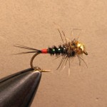 black & cristal pheasant tail