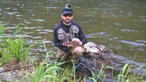 Stefan's grayling on Vah