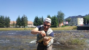 First grayling on Bela