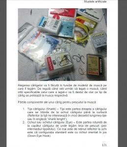 materiale pentru legatul mustelor